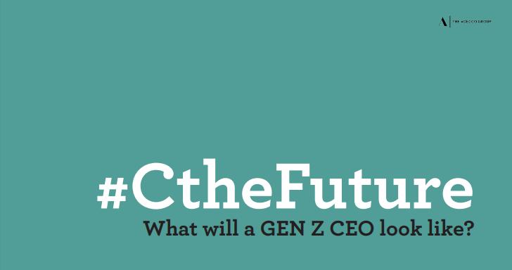 #CtheFuture - έρευνα για τους CEOs Της γενιάς Z